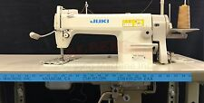 NEW Juki 5550N INDUSTRIAL SEWING MACHINE Complete with K.D Stand & Servo Motor