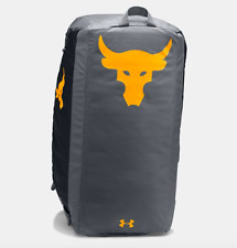 Under Armour UA Project Rock Backpack Duffle/ SuperVent Cap/ Delta Shoe (Size:9)