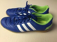 ADIDAS SALA INDOOR SOCCER SHOES MENS SIZE 8 BLUE