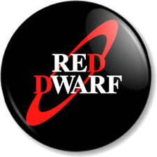 RED DWARF 25mm Pin Button Badge Retro TV Show Comedy Cult Sci-Fi Smeg Head Space