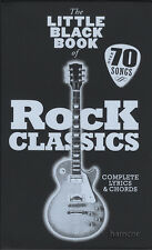 The little black book of rock classics guitar chord répertoire