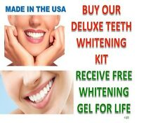 44% Peroxide Teeth Whitening Tooth Bleaching Whitener Oral Kit GEL FOR  LIFE