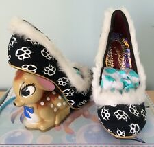 IRREGULAR CHOICE LTD EDITION JAMBI DEER BAMBI CHRISTMAS SHOES SIZE 37 (4) BNIB!