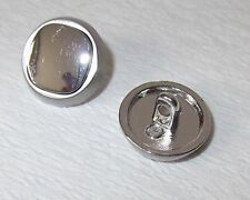 8 Metal Buttons Buttons 30mm silver 272a