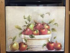 Country Red Apple Dishwasher Magnet Magnetic Cover Kitchen Decor