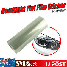 Clear Transparent Car Headlight Tint Film Overlay Sticker Cover Decals 30 x 40CM