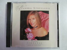 BARBARA STREISAND SELECTIONS FROM TIMELESS LIVE IN CONCERT SAMPLER PROMO CD RARE