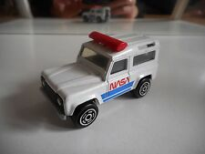 Majorette Land Rover NASA in White