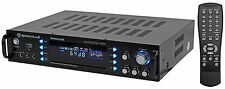 Rockville RPA6000USB 1000w 4 Channel Home Theater Receiver With Tuner/USB/Mixer