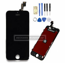 Black LCD Display Touch Screen Digitizer Assembly Replacement For iPhone 5S SE