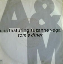 "7"" 1990 ! DNA feat. SUZANNE VEGA : Tom´s Diner /VG+++"