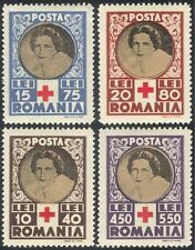 Romania 1945 Red Cross/Medical/Health/Welfare/Royalty 4v set (n28886)
