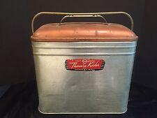 Antique Vintage Knapp-Monarch Therm-a-Kooler Aluminum Metal Cooler c. 1950s