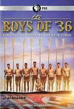 American Experience: The Boys of '36 (DVD, NEW, 2016 PBS Release) For GOLD
