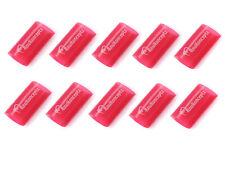 """KnuKonceptz Red 3/4"""" 4 Gauge 3:1 Heat Shrink Tubing w/ Adhesive Glue 10 Pack"""
