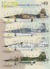Northrop F-5 B/E/F FCM Decals 48049 1/48 US Marines and Brazilian Air Force