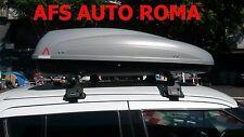 BOX AUTO PORTAPACCHI BAULE G3 KRONO 400+BARRE PORTATUTTO SUZUKY SWIFT ANNO 2013