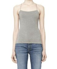 NEW T by Alexander Wang Stretch Modal Camisole in Heather Grey Large