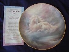 Hamilton Collection Unicorn Plate - A Mother's Love - 1992