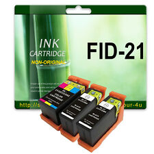 3 Ink Cartridges For Dell All In One P513w P713w V313l V313w V515w V715w 21 BK C