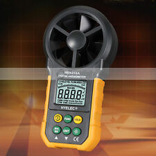 Hyelec MS6252A Digital Anemometer Meter Backlight Air Velocity Measurement