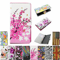Women Men Flip Phone Leather Wallet Cover Case For Sony Xperia M2 Z1 Z2 E1 Hot