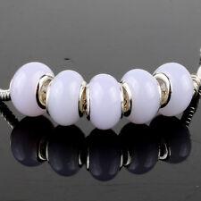 5pcs Jelly MURANO bead LAMPWORK For European Charm Bracelet
