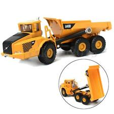 1:87 Scale Alloy Dump Truck Diecast Construction Vehicle Cars Lorry Toys Model