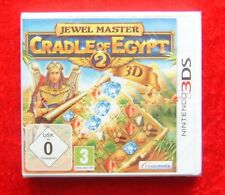 Jewel Master Cradle of Egypt 2 3D, Nintendo 3DS Spiel, Neu, deutsche Version