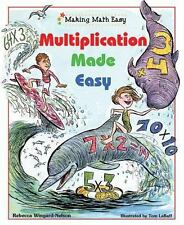 Multiplication Made Easy (Making Math Easy)-ExLibrary