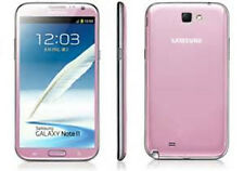 "Pink 5.5"" Samsung Galaxy Note 2 GT-N7100 16GB 8MP GPS NFC Unlocked Telephone"