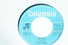 "CHUBBY CHECKER -The Twist- 7"" 45"