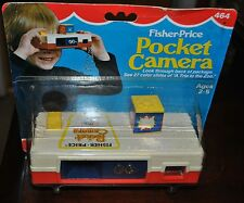 FISHER PRICE 464 POCKET CAMERA NEW IN ORIGINAL PACKAGING 1982 RARE FIND NEW