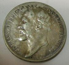 Liechtenstein 2 corone 1912 Johann II. ARGENTO
