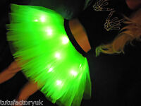 NEON TUTU MADE TO ORDER - ANY COLOUR - LIGHT UP TUTU NEON PINK TUTU WITH LIGHTS