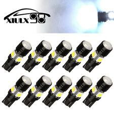 10X White LED High Power Car Backup Reverse Light Projector Lens T10 Cree 5W
