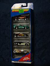 Hot Wheels - Speed Demons - 5 Car Gift Pack * Mattel *