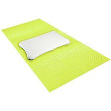 """NEW MadCatz Yoga Exercise Mat Compatibe w/ Nintedno Wii 72""""x24"""" 4mm Thick Green"""
