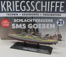 Schlachtschiff SMS Goeben ( 1911 ) 1:1250 / ca.15 cm