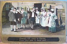 Irish Illus Song Series Postcard Barney CHANGE YOUR NAME TO CARNEY Eismann 1911