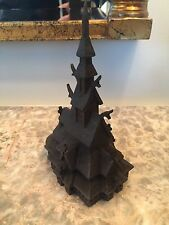 Henning Norway Handcarved Wood Stavkirke Church 6 Inches Tall