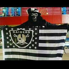 OAKLAND RAIDERS 3X5 RAIDER NATION FLAG