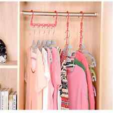 1xMulti-Function Space Saver Wonder Magic Clothes Hanger Closet Organizer HookB1