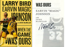 Earvin Magic Johnson SIGNED AUTOGRAPHED When The Game Was Ours HC 1st Ed 1st Pri