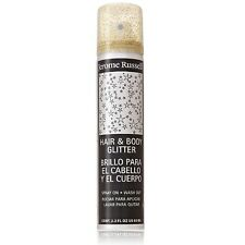 Jerome Russell Hair and Body Glitter Spray, Gold 2.2 oz (Pack of 7)