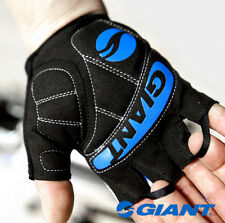 Giant Half Finger Cycling Gloves Bike Gel Padded Bicycle Fingerless