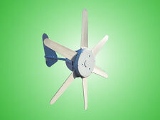 Micro wind turbine M300 12V with 6 x blades