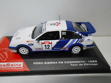 FORD SIERRA RS COSWORTH SAINZ RALLY TOUR DE CORCEGA 1988 ALTAYA IXO 1/43