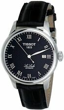 Tissot T-Classic Le Locle Leather Mens Watch T41.1.423.53