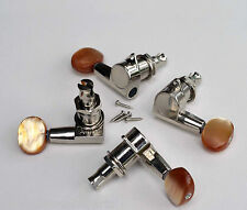 Kluson Small Bass Tuners Mechaniken 2/2 Nickel